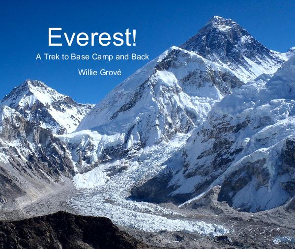 The best view of Mt Everest is from the summit of Kala Patthar, 18,400 ft.