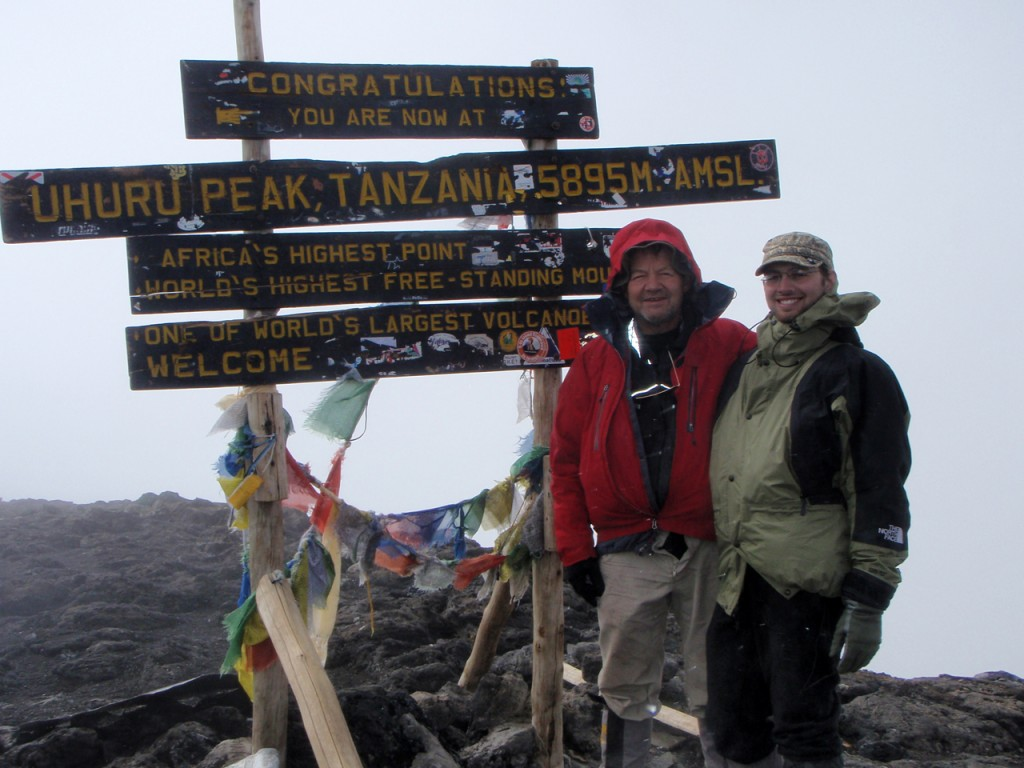 Uhuru Peak - Highest summit in Africa: 19,340 ft.