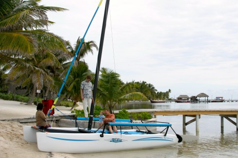 Hobie in Belize