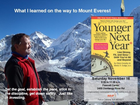 Everest Photo with text - Younger Next Yr