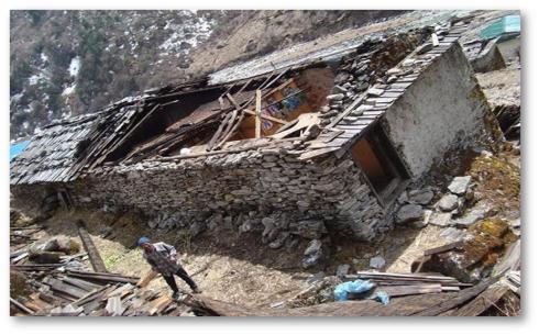 A home in Rowaling Valley near Kathmandu