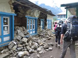 "We are giving ""scholarships"" to the children from Nakchung, who have to now live and study in Lukla,since they also now can't live in - and therefore walk from - their village to go to school."