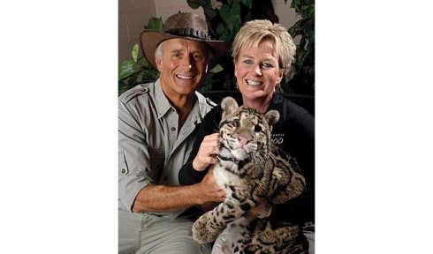 Suzi Rapp with Jungle Jack Hanna