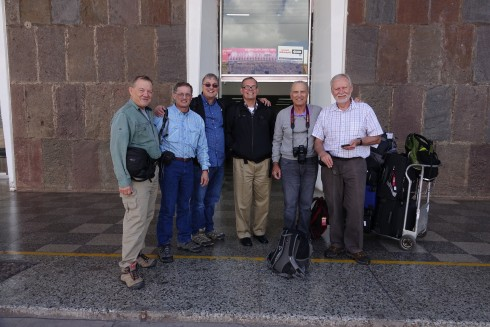 After flying all night we arrived in Cusco, ready for the adventure...