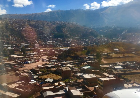 Arriving in the Sacred Valley of the Incas