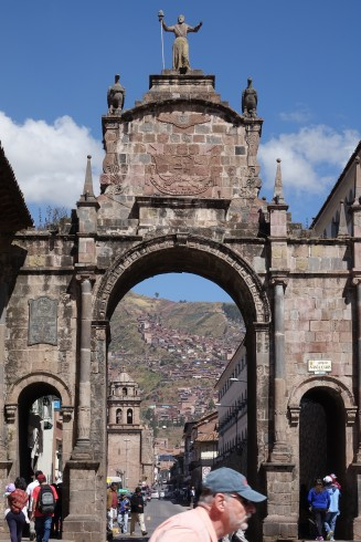 Arco Santa Clara, one of the four entrances to Cusco