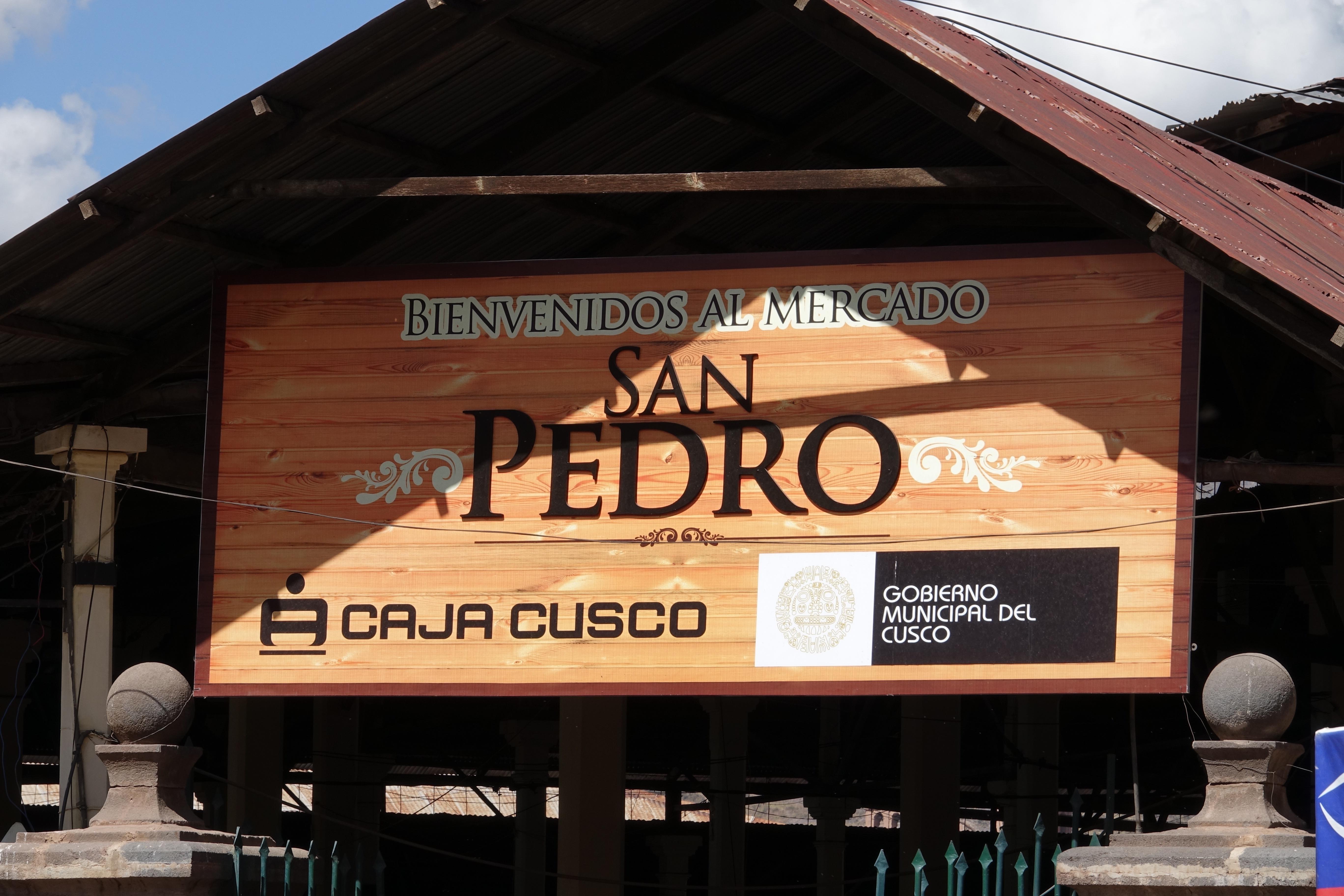 Cusco Mercado San Pedro