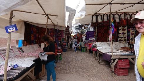The market in Pisaq